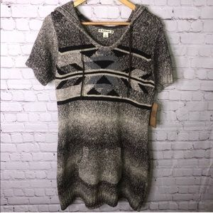 NWT Tribal Southwest Print Sweater Dress